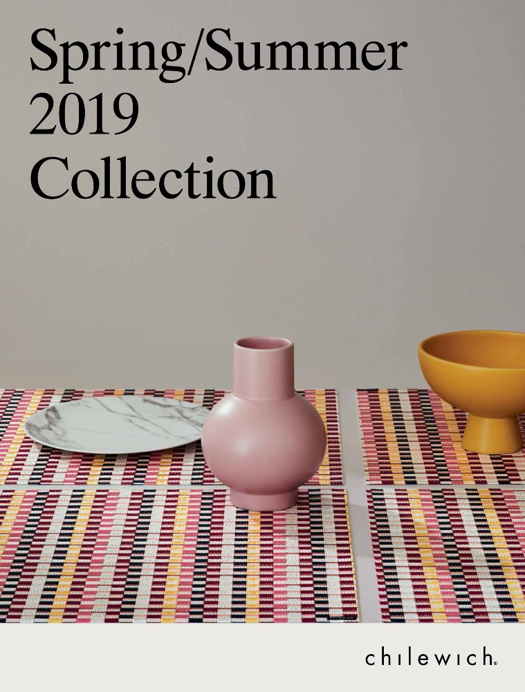 자체브랜드CHILEWICH WORKBOOK 2019 S/S